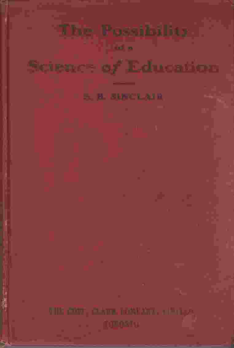 Image for The Possibility of a Science of Education