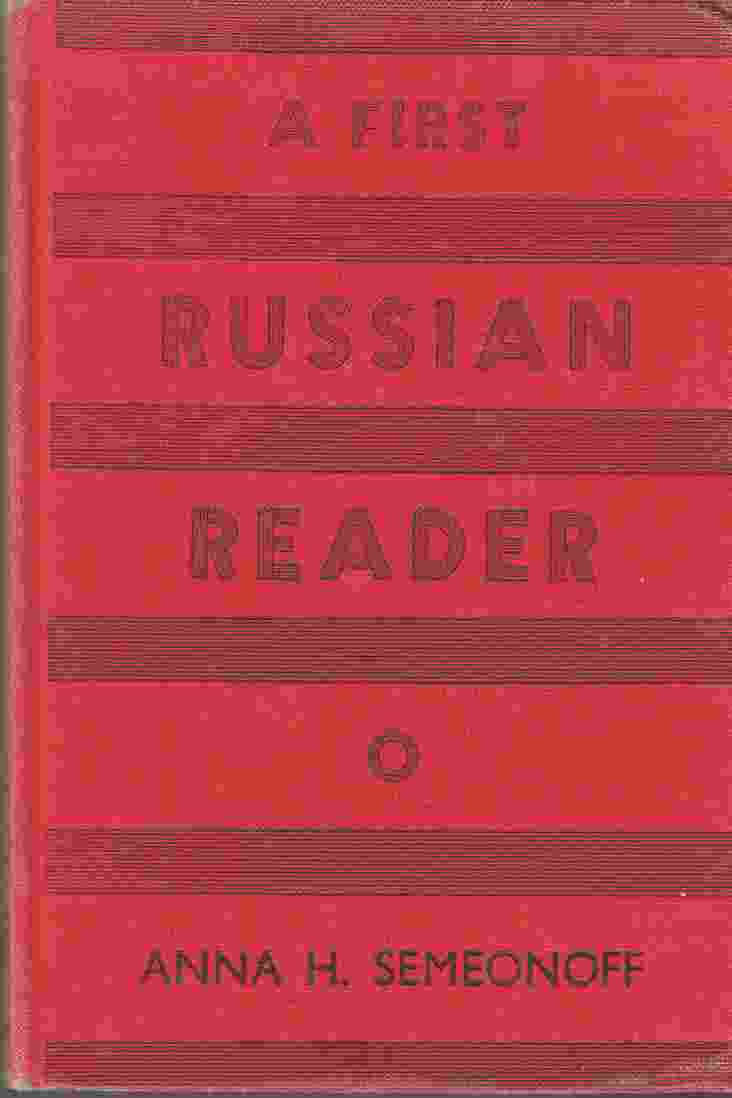 Image for A First Russian Reader