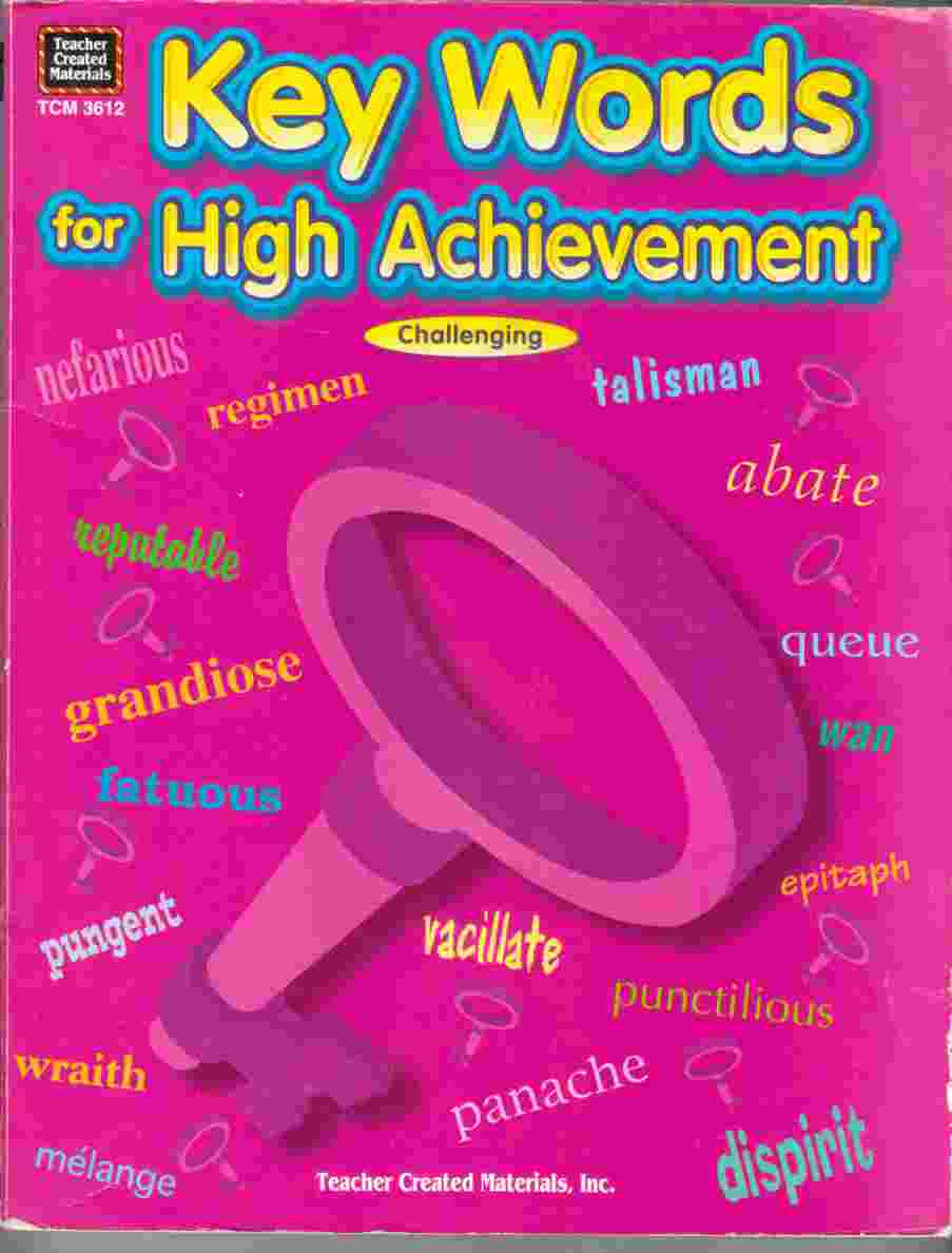 Image for Keywords for High Achievement