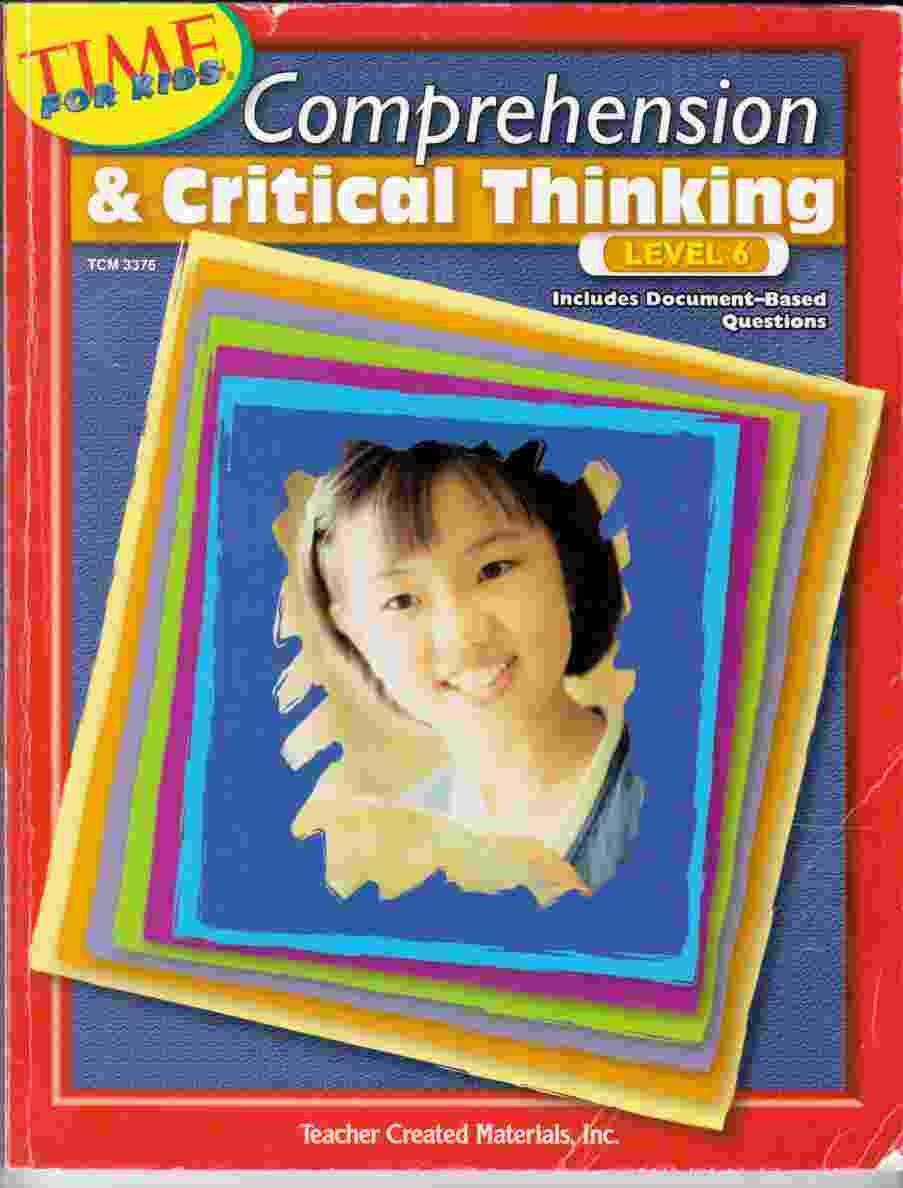 Image for Comprehension & Critical Thinking Level 6