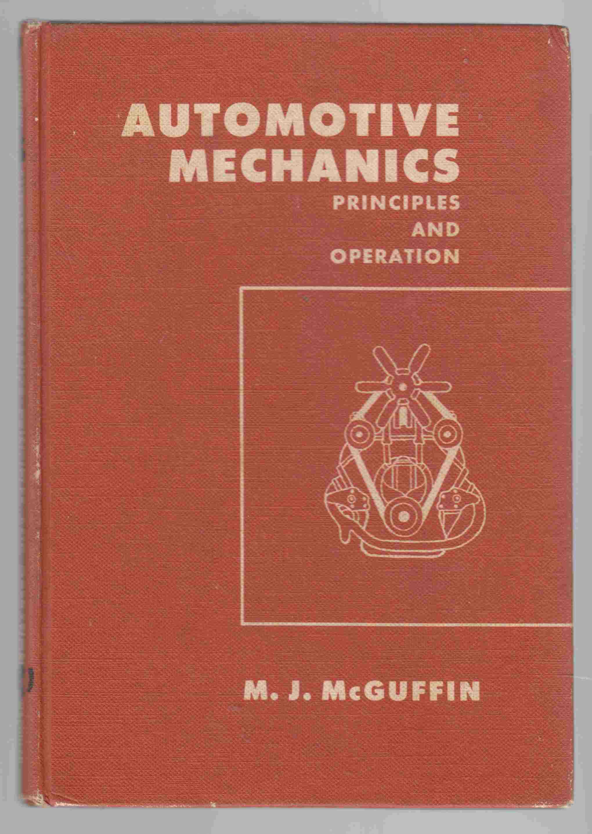 Image for Automotive Mechanics Principles and Operation