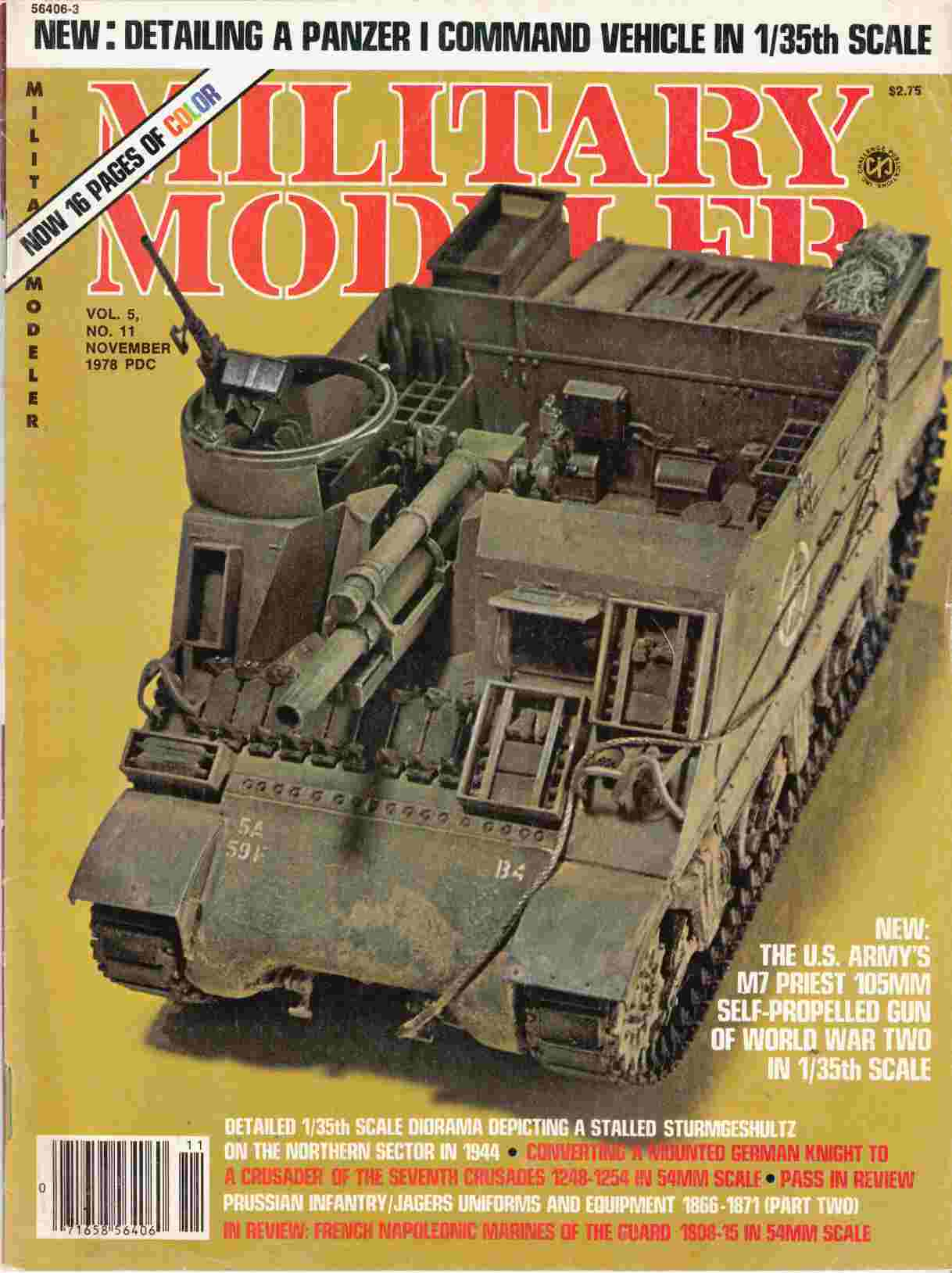 Image for Military Modeller Vol. 5, No. 11 November 1978