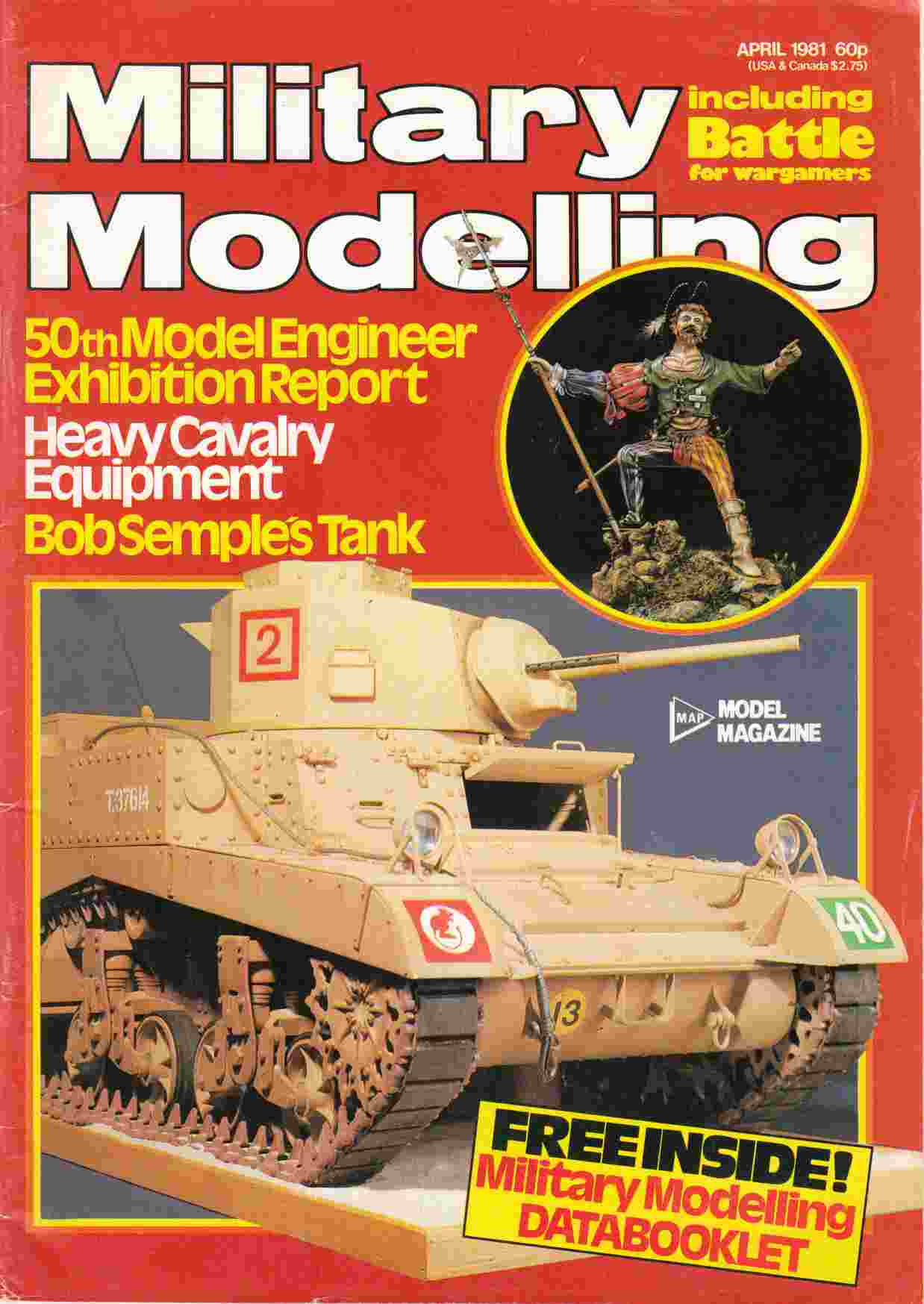 Image for Military Modelling Vol. 11 No. 4 April 1981
