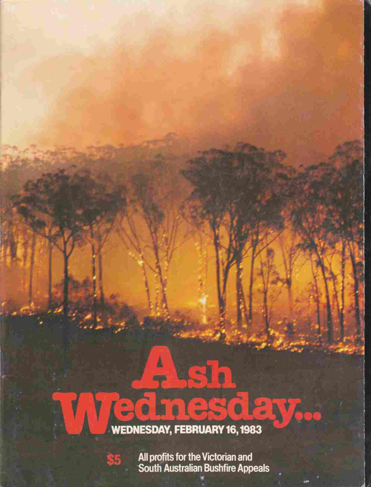 Image for Ash Wednesday: Wednesday, February 16, 1983