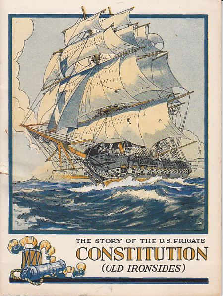 Image for The Story of the US Frigate Constitution (Old Ironsides)