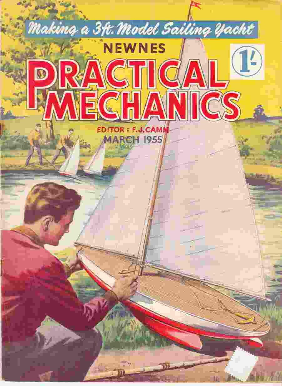 Image for Newnes Practical Mechanics March 1955