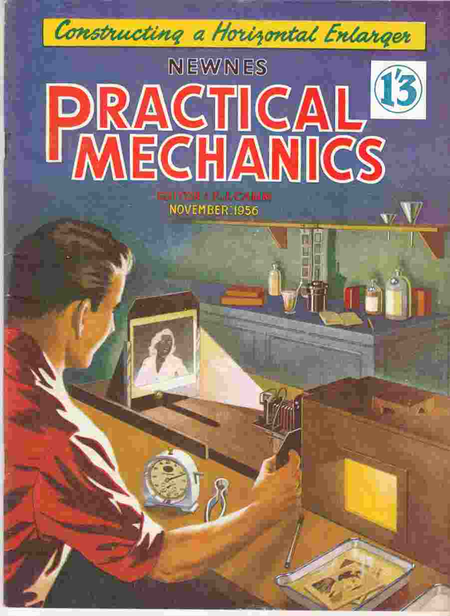 Image for Newnes Practical Mechanics November 1956