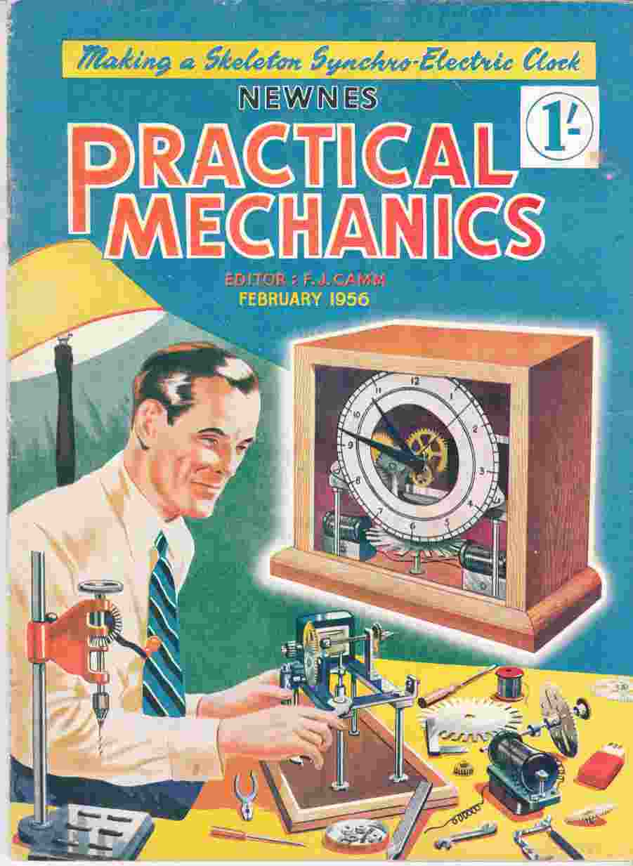 Image for Newnes Practical Mechanics February 1956