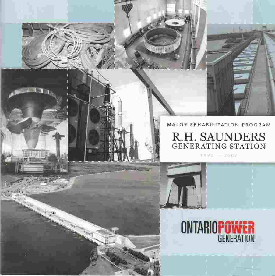 Image for Major Rehabilitation Program R. H. Saunders Generating Station 1990 - 2002