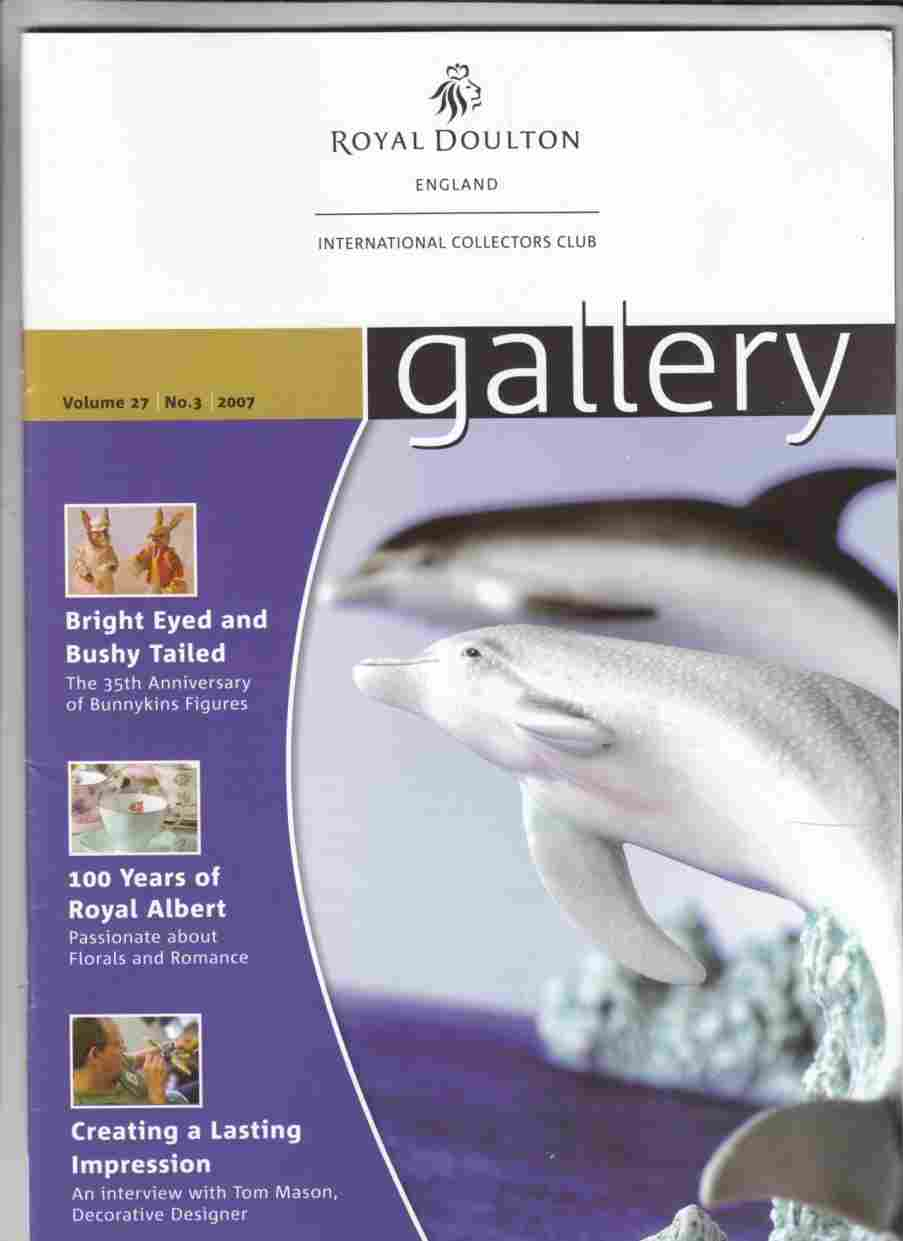 Image for Gallery Volume 27 No. 3 Autumn 2007