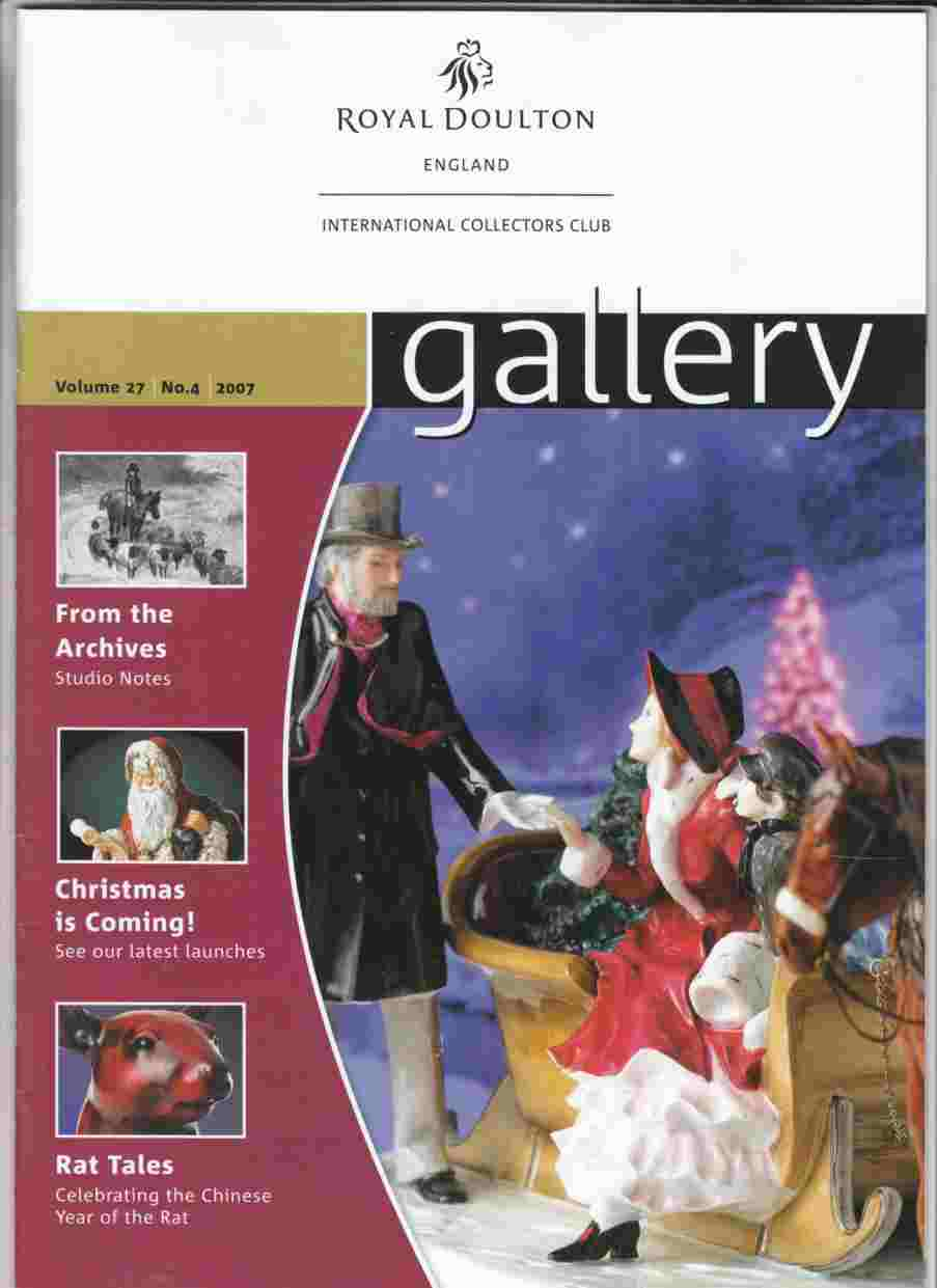 Image for Gallery Volume 27 No. 4 Winter 2007