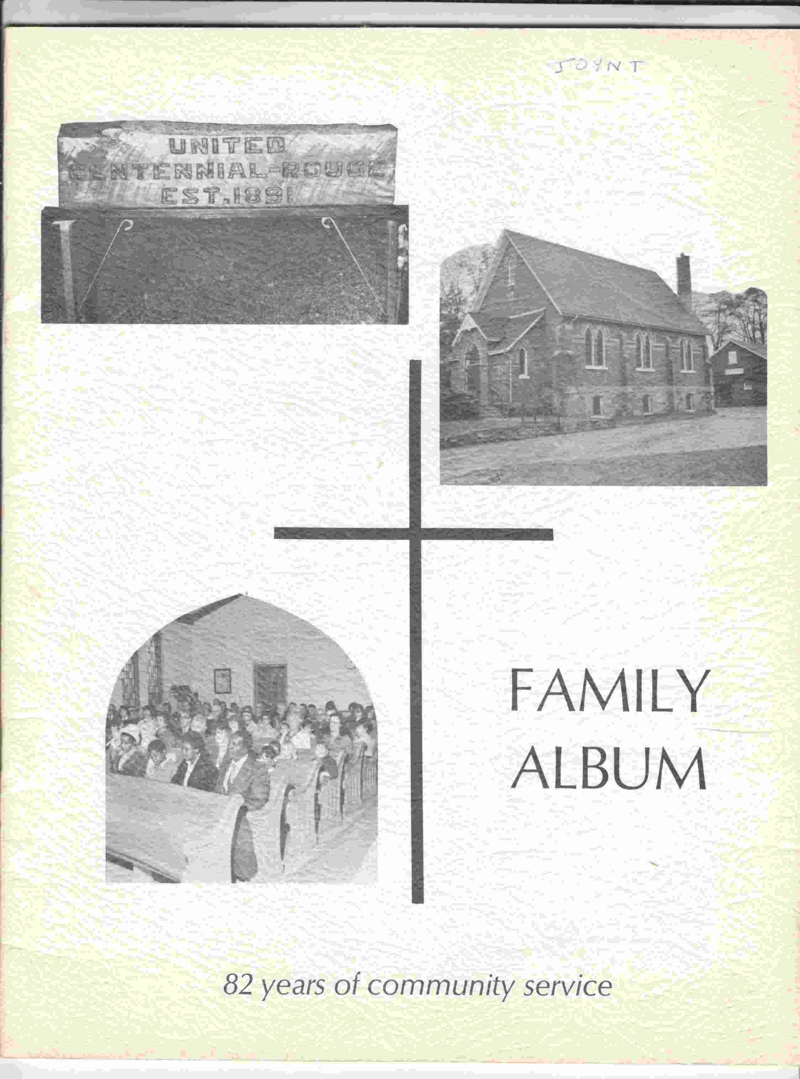 Image for Cantennial-Rouge United Church Family Album 1973