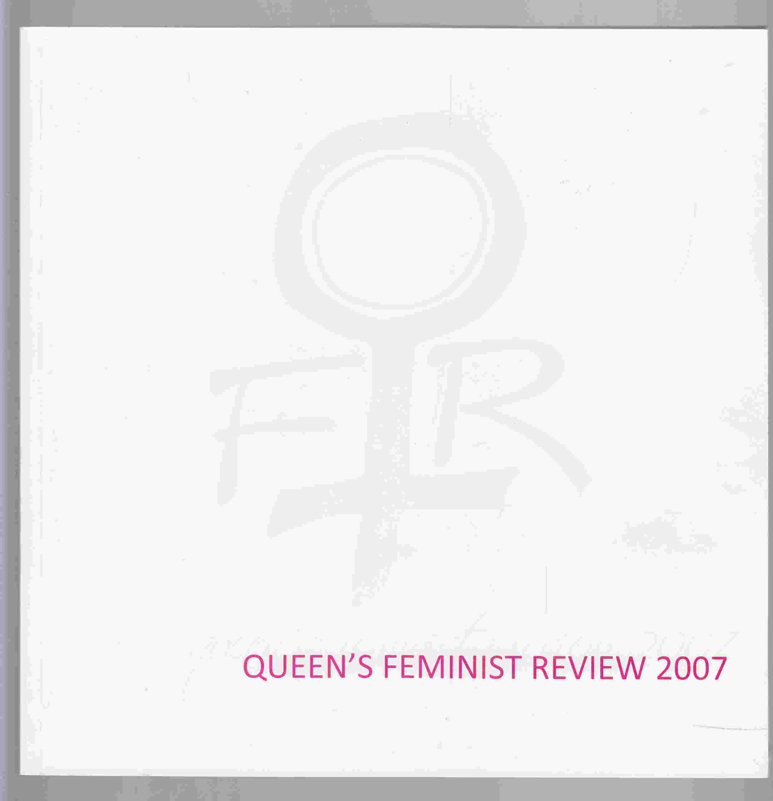 Image for Queen's Feminst Review Volume 15 2007