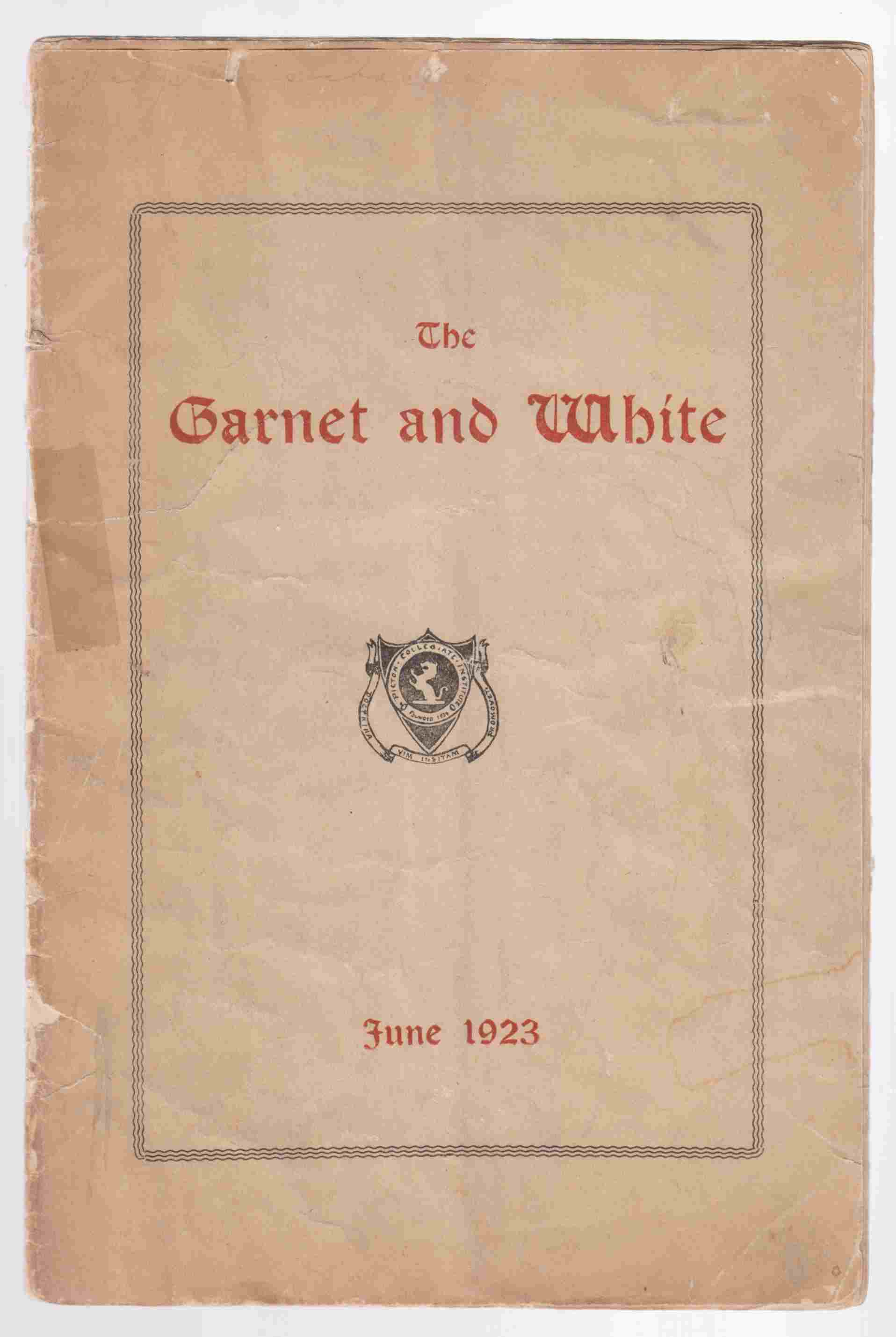 Image for The Garnet & White June 1923