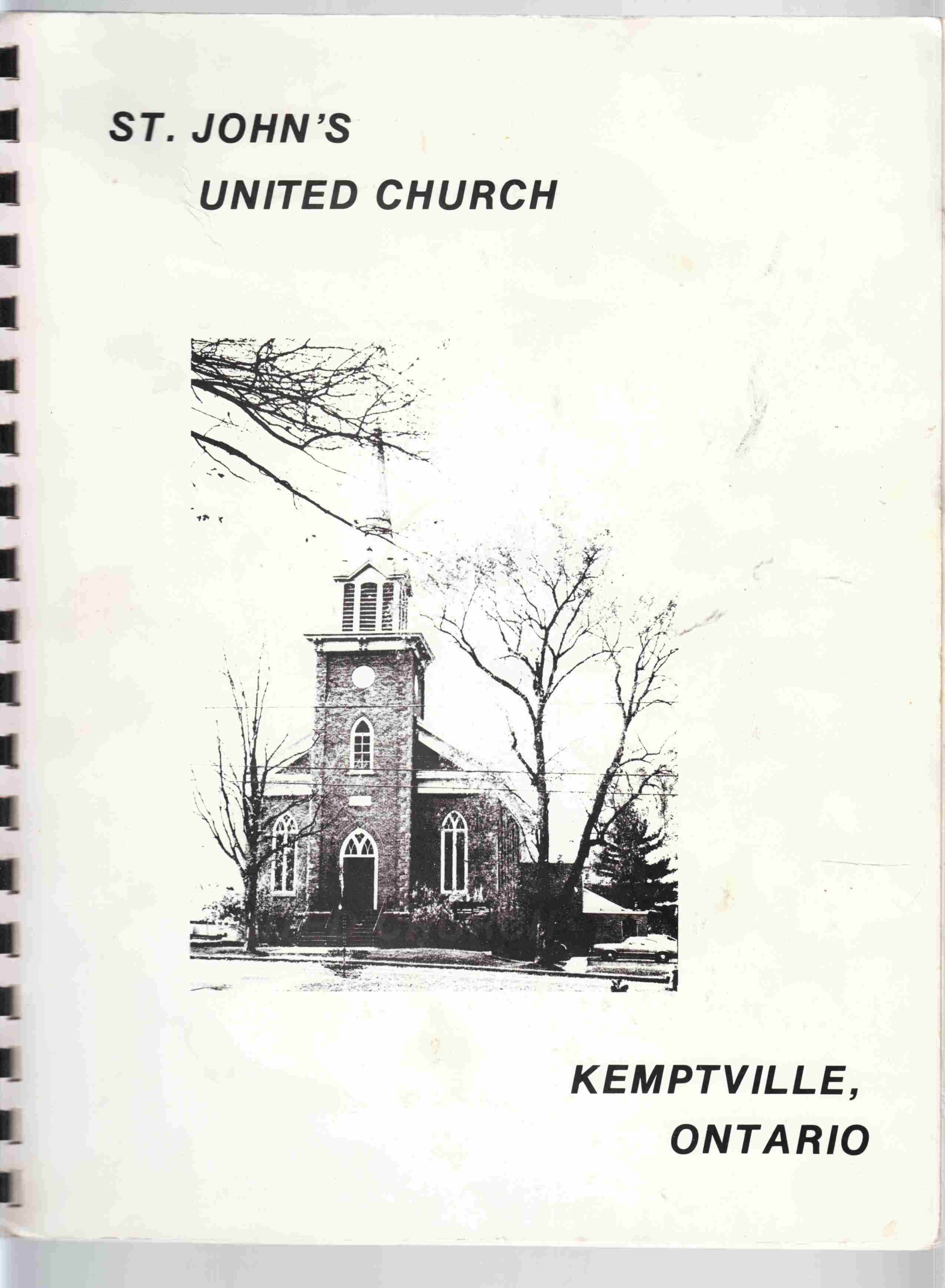 Image for St. John's United Church Kemptville, Ontario