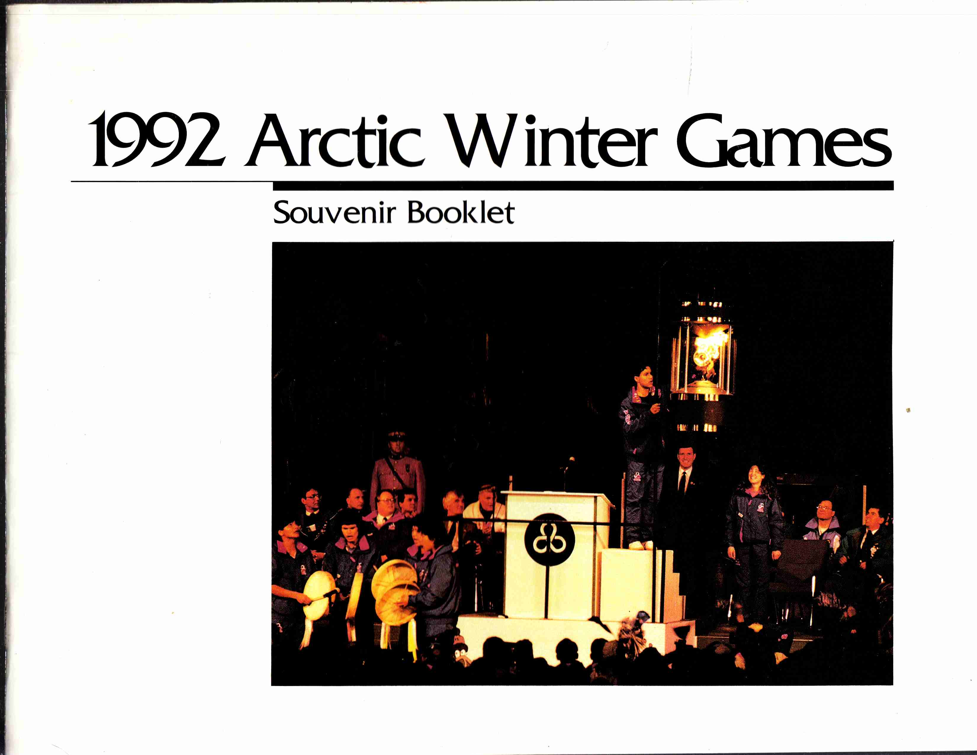 Image for 1992 Arctic Winter Games Souvenir Booklet