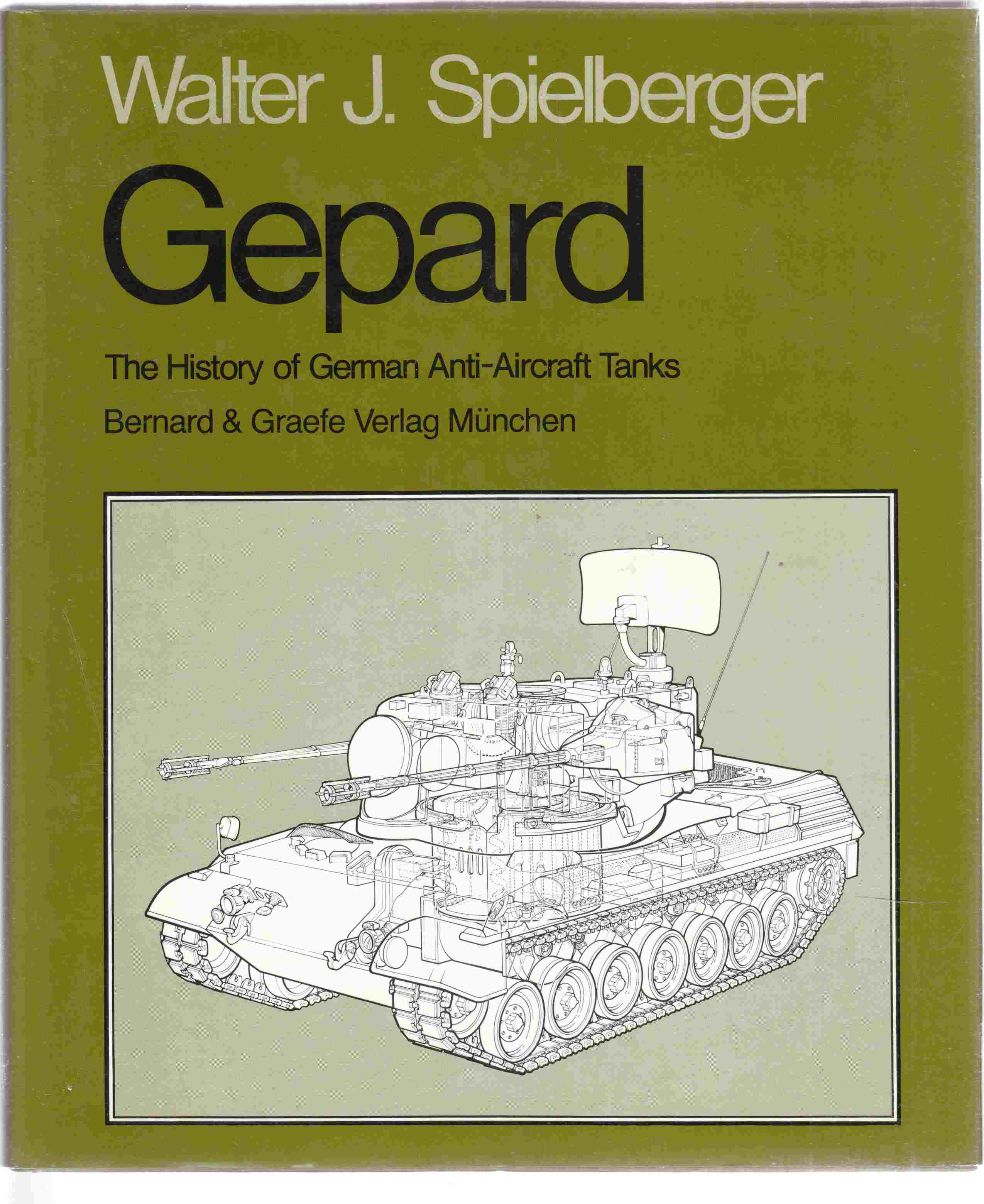 Image for Gepard The History of German Anti-Aircraft Tanks