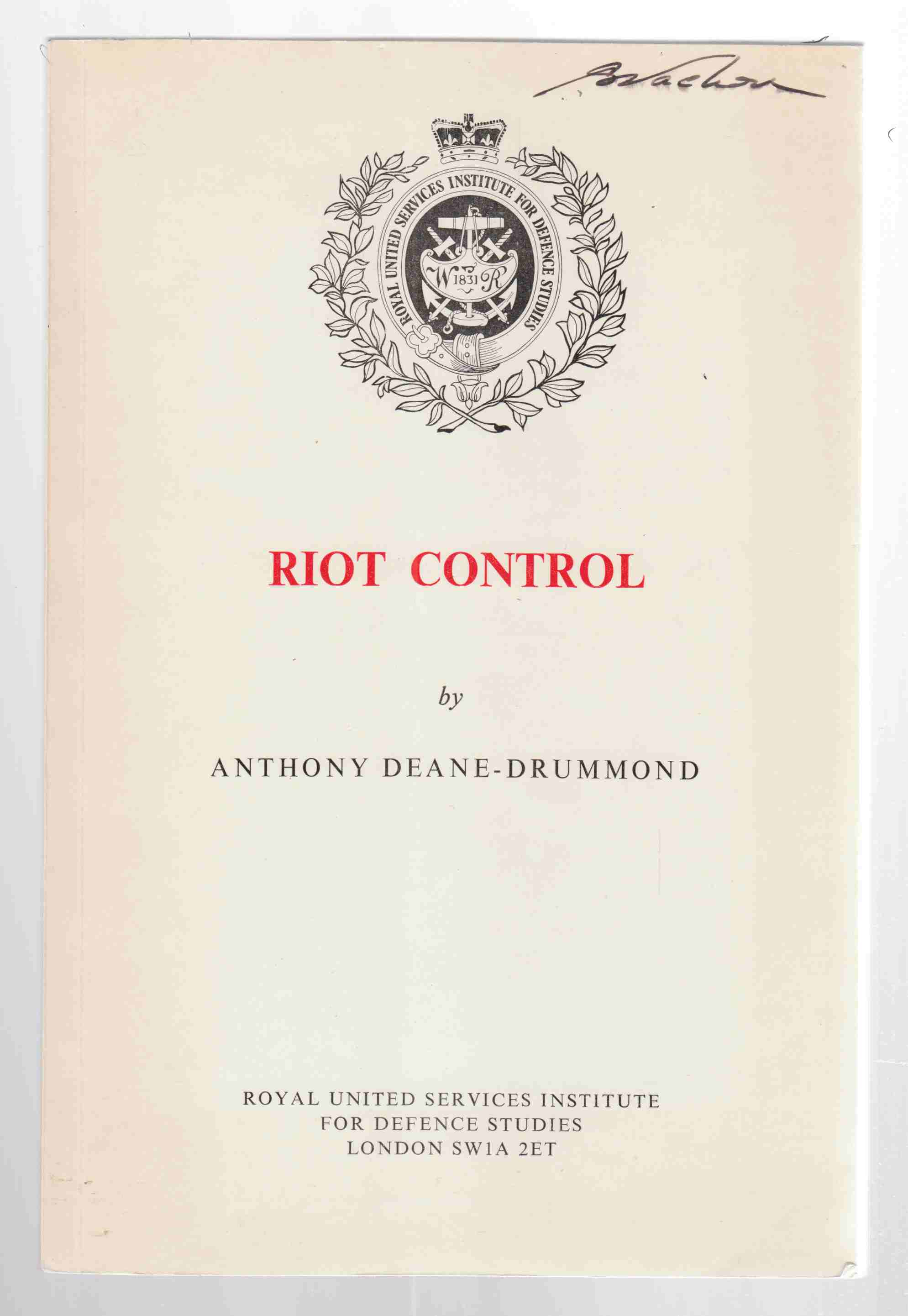 Image for Riot Control