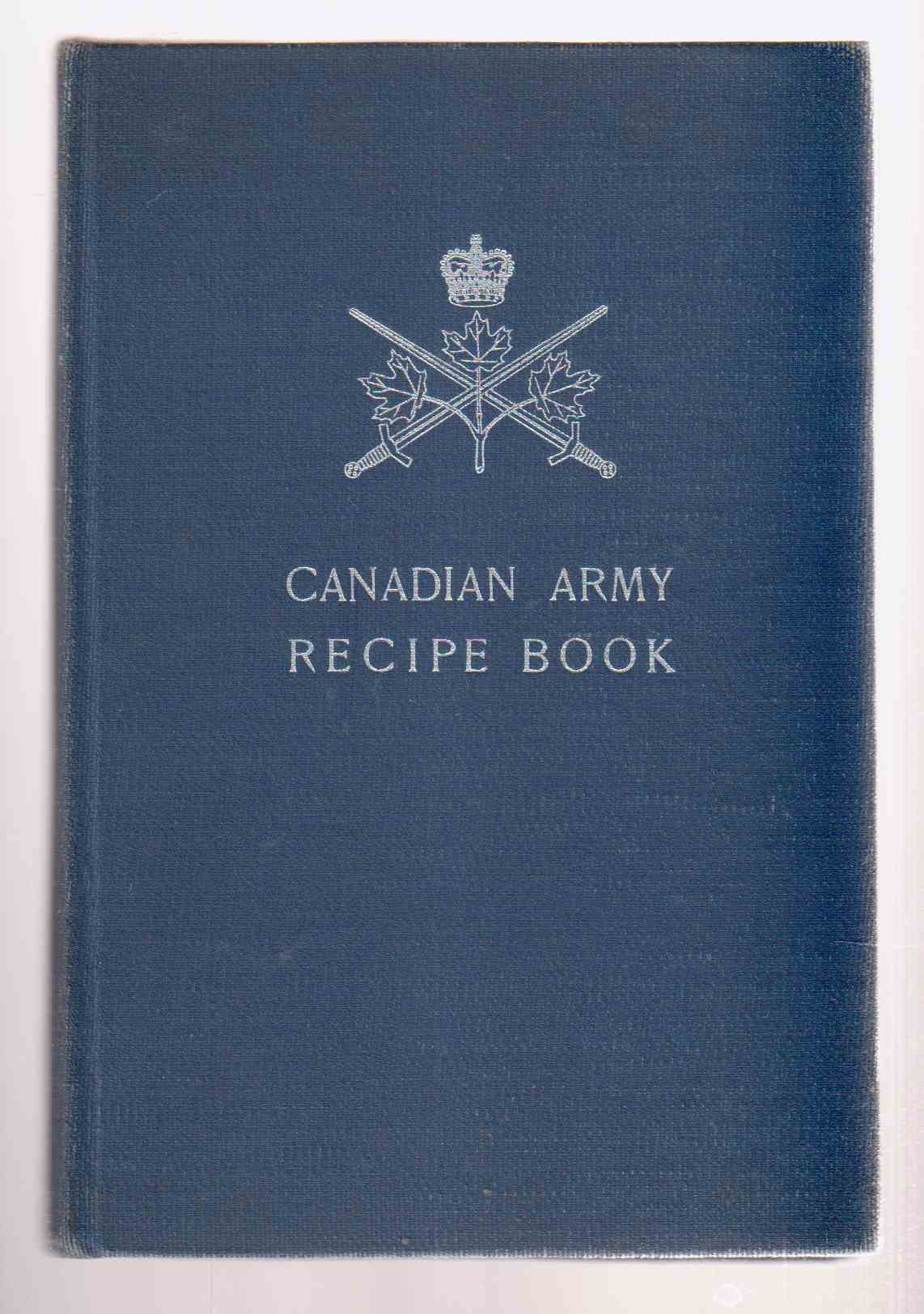 Image for Canadian Army Recipe Book