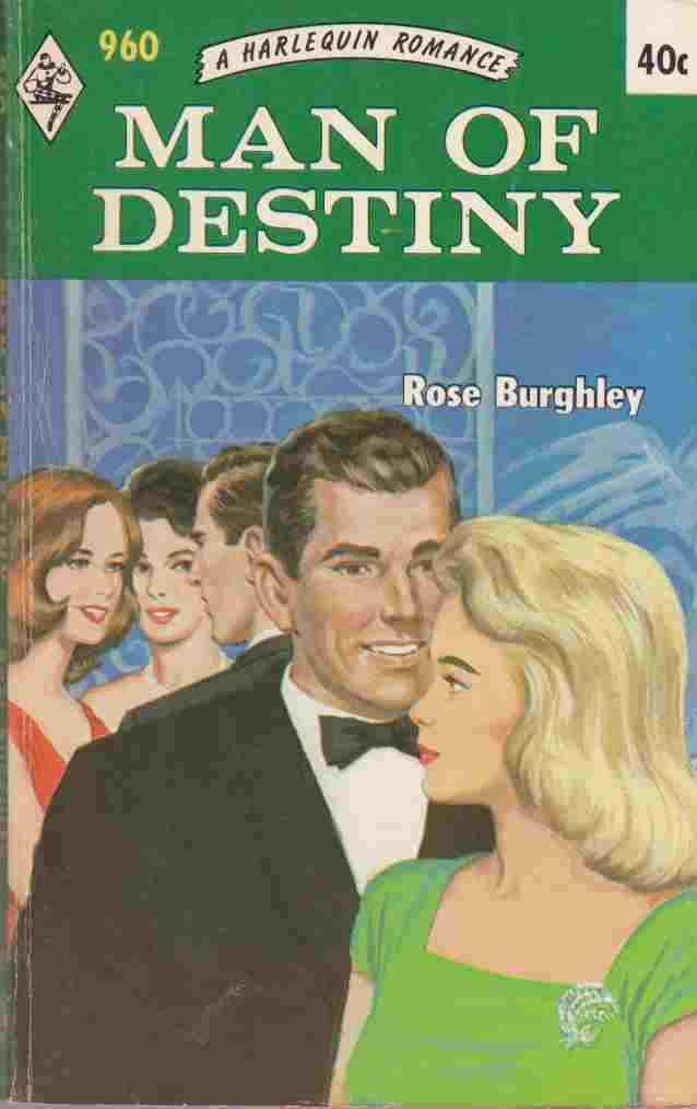 Image for Man of Destiny (Harlequin No. 960)