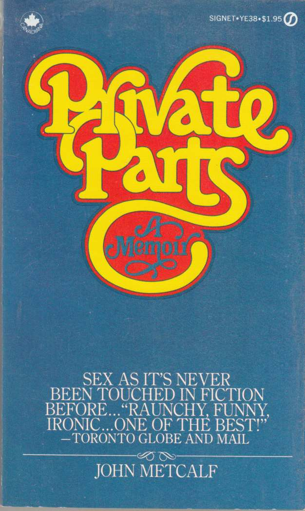 Image for Private Parts A Memoir