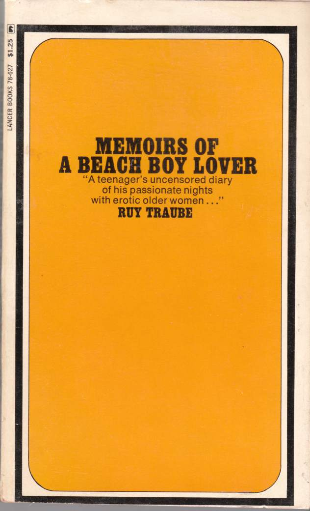 Image for Memoirs of a Beach Boy Lover