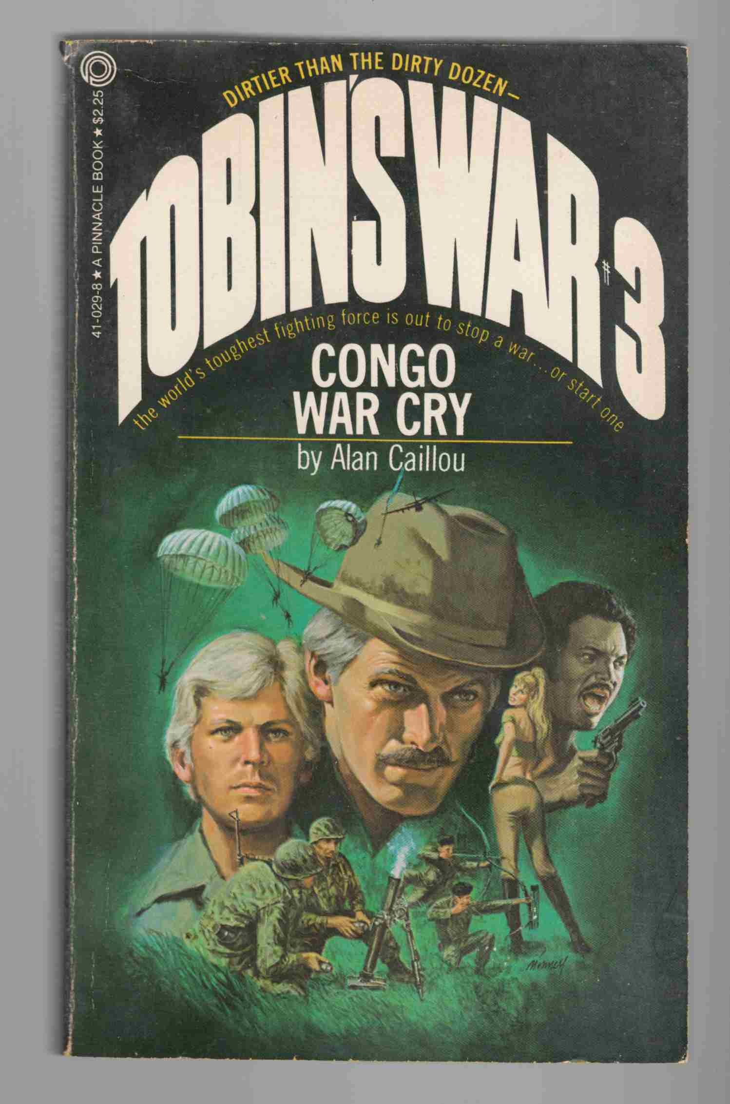 Image for Congo War Cry The Private Army of Colonel Tobin #3