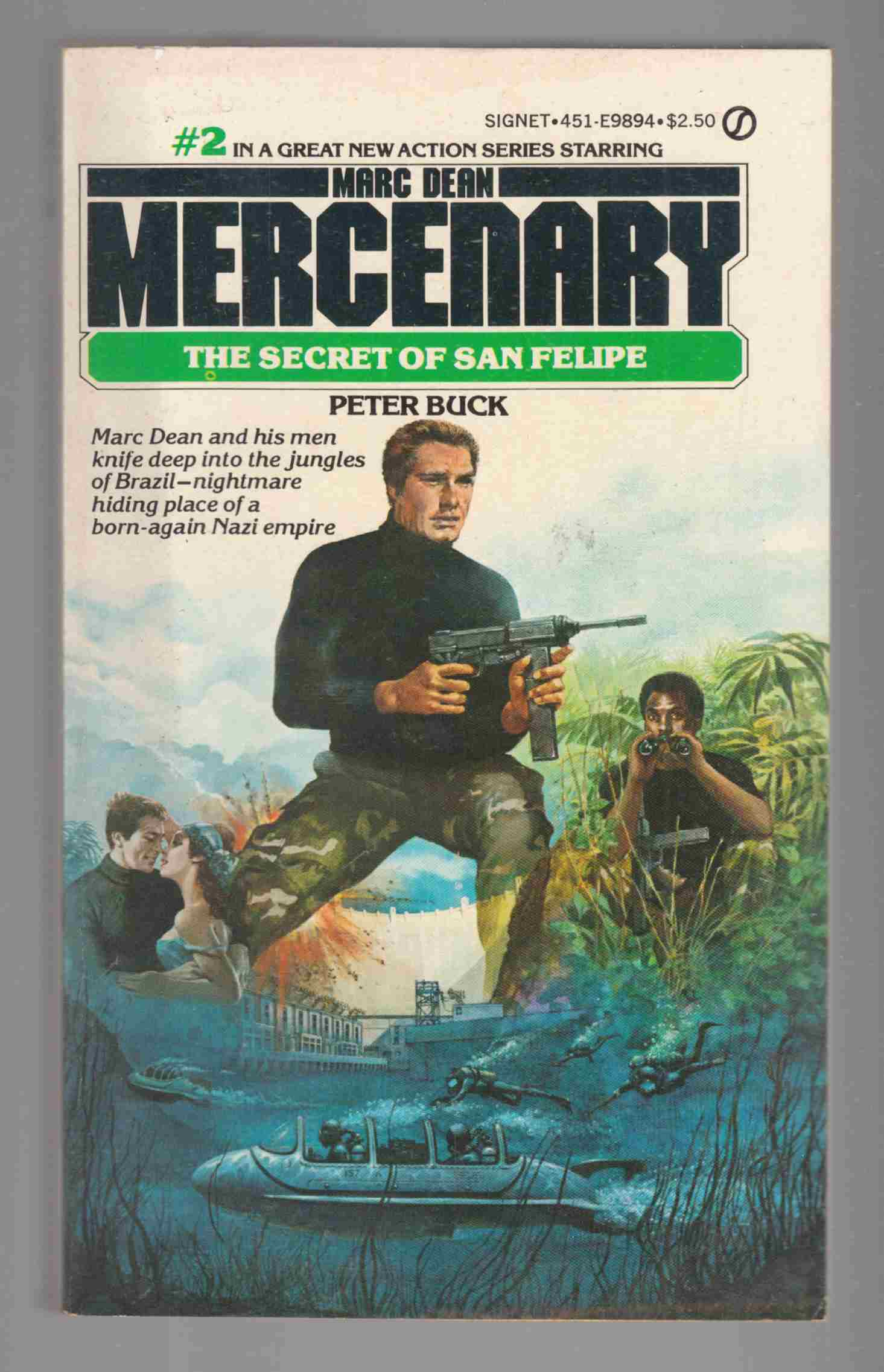 Image for Marc Dean Mercenary #2: The Secret of San Felipe