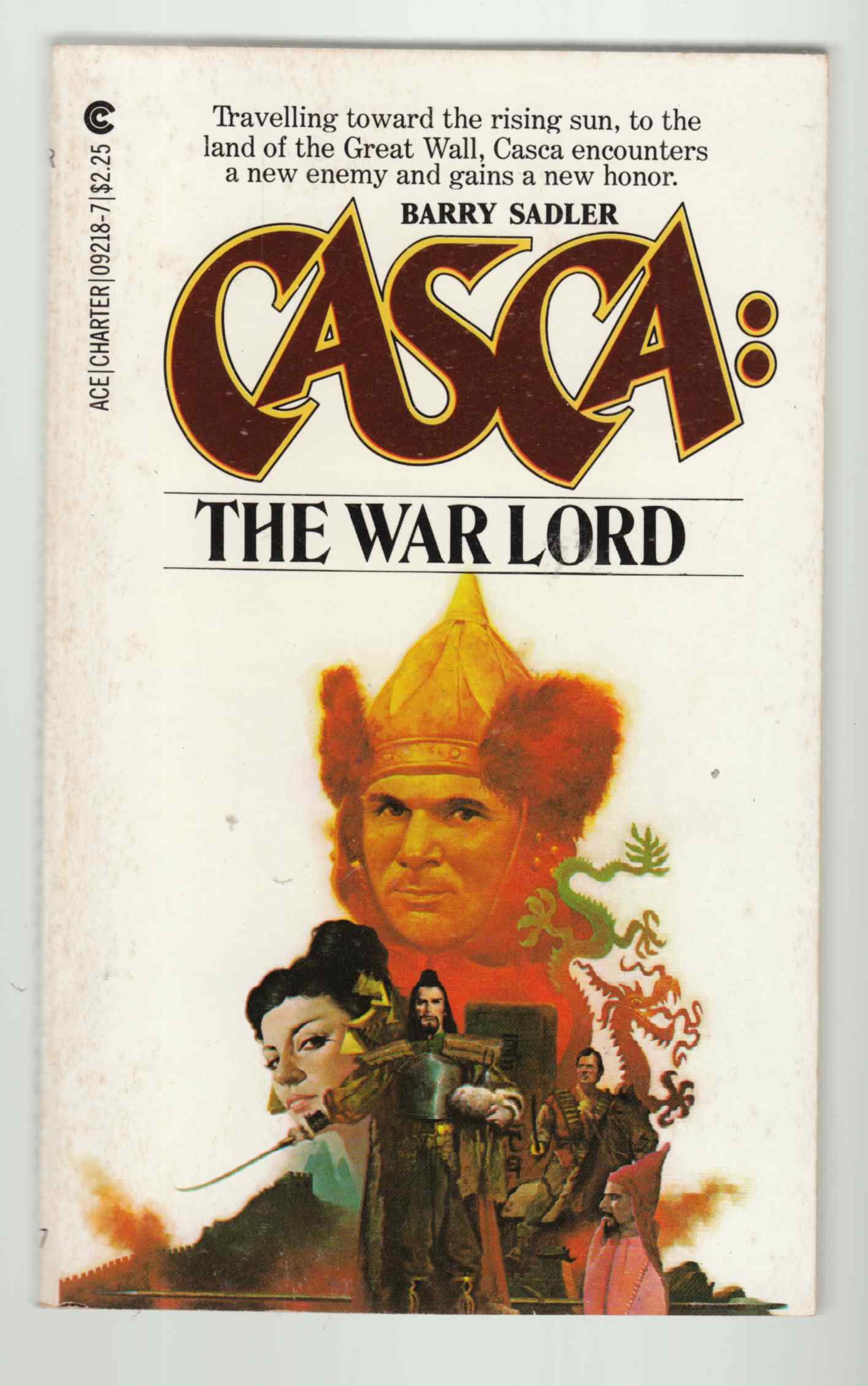 Image for Casca #3: The War Lord
