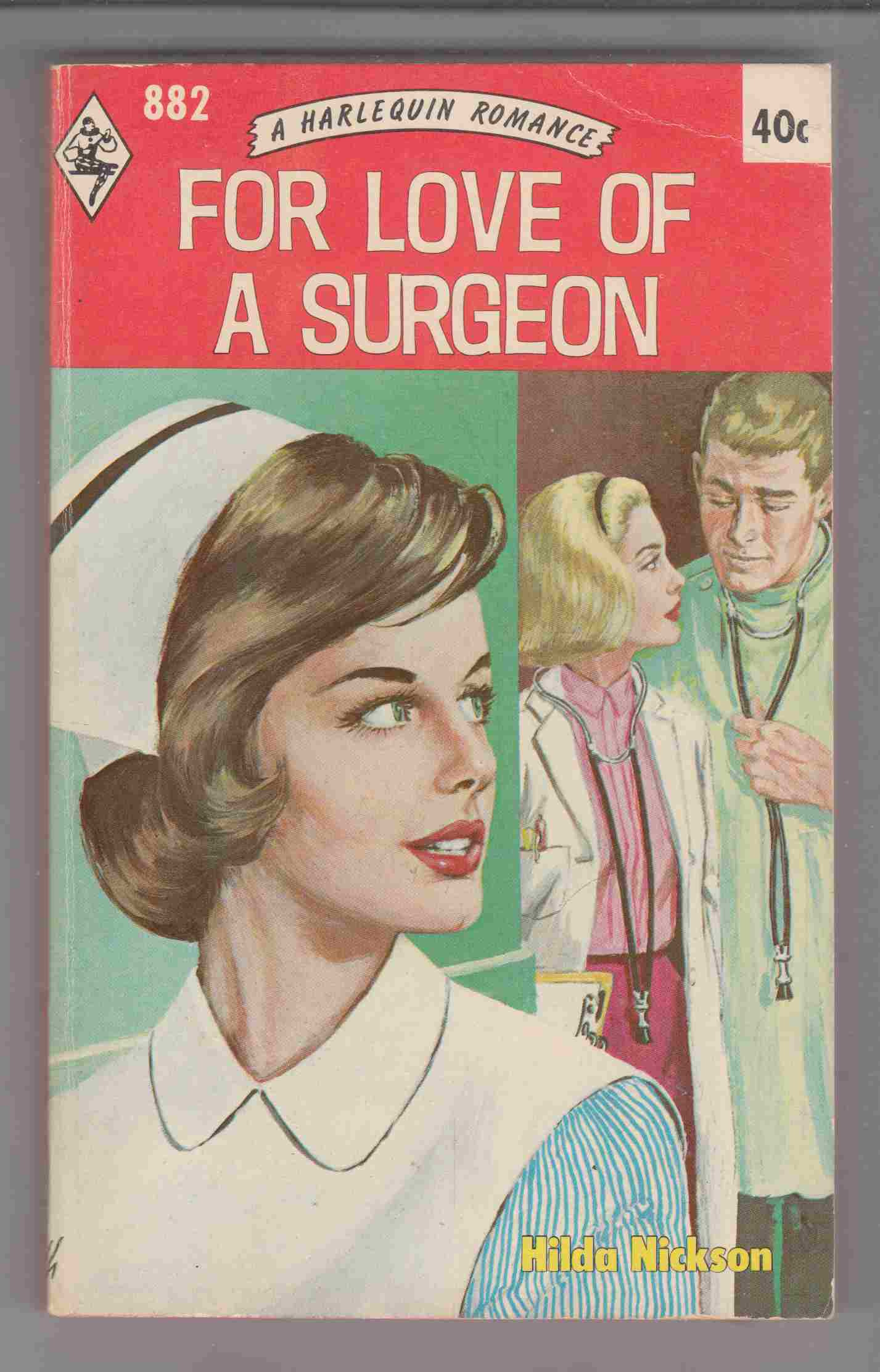 Image for For Love of a Surgeon (Harlequin #882)