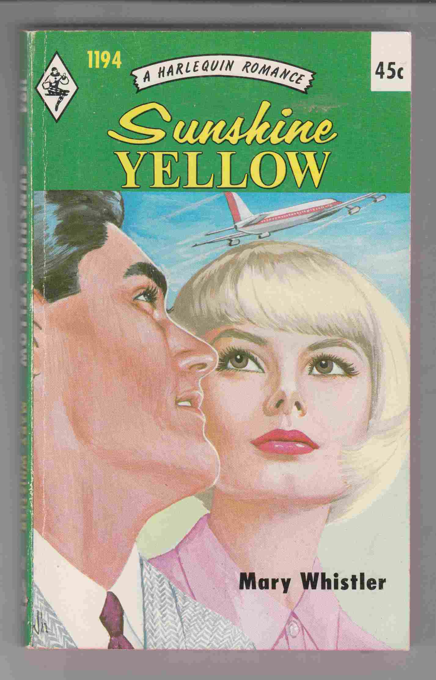 Image for Sunshine Yellow (Harlequin #1194)