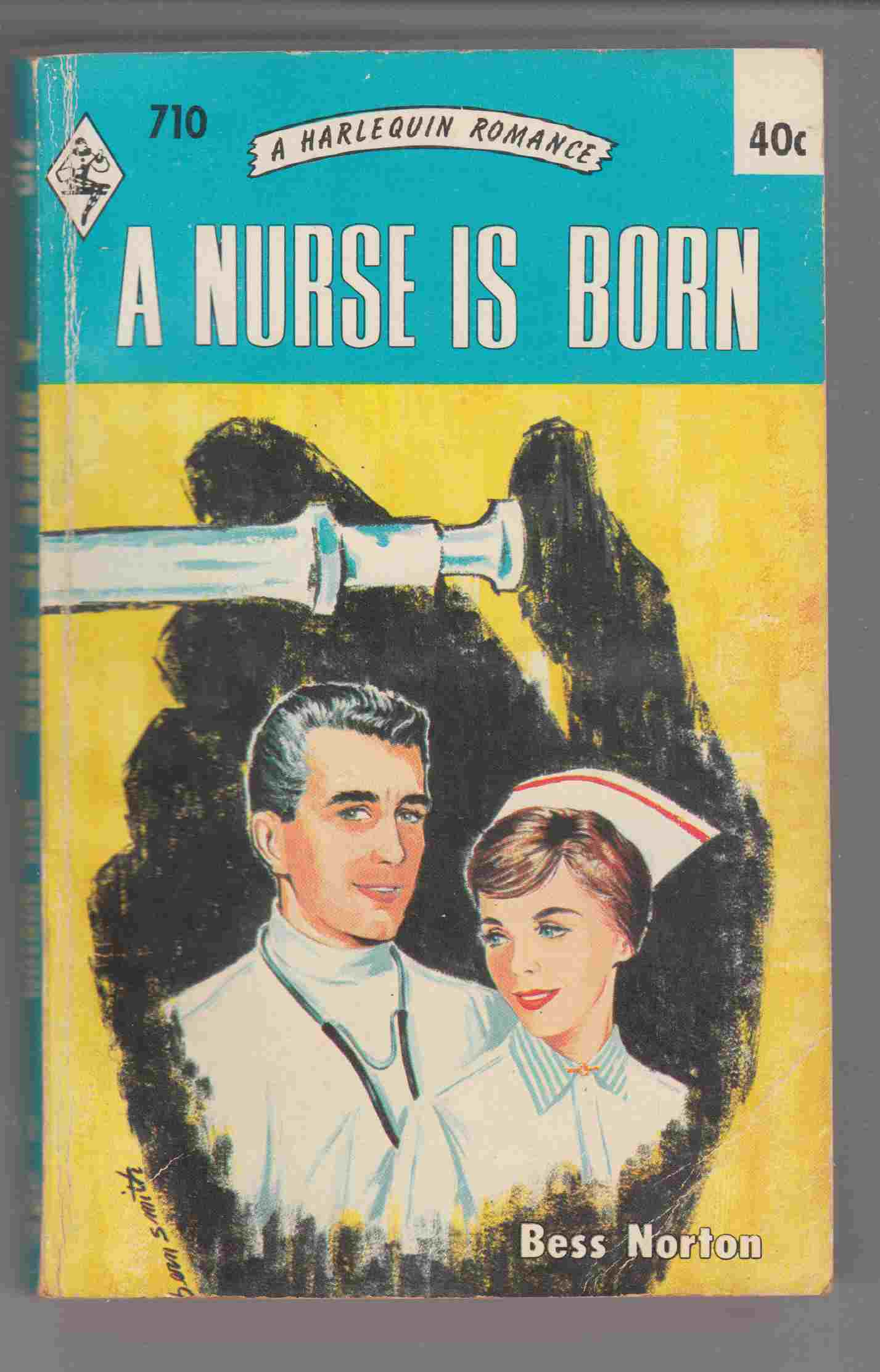 Image for A Nurse is Born (Harlequin #710)
