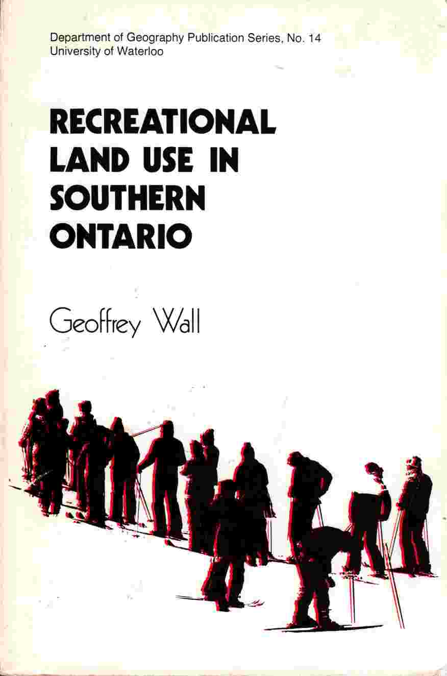 Image for Recreational Land Use in Southern Ontario
