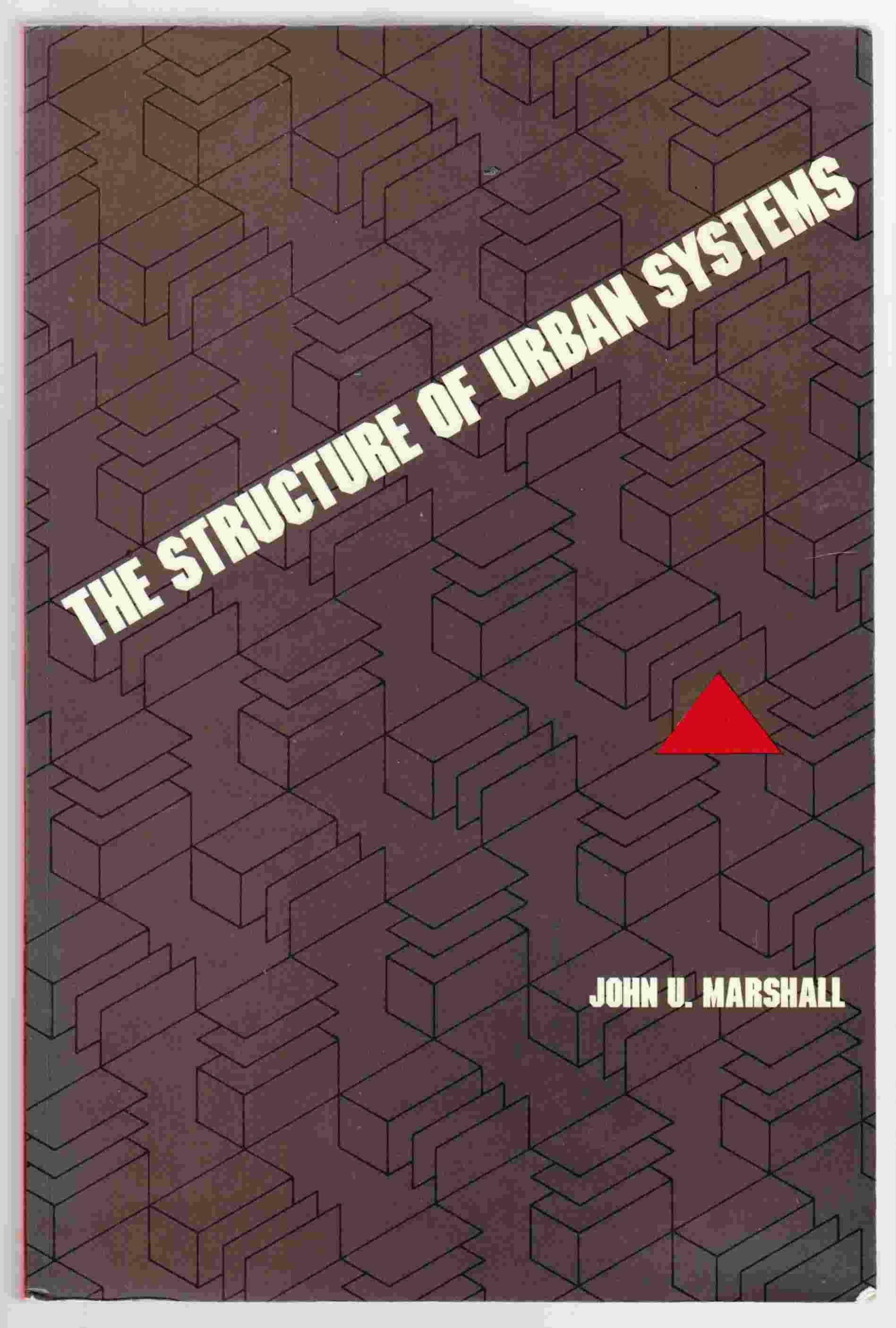 Image for The Structure of Urban Systems