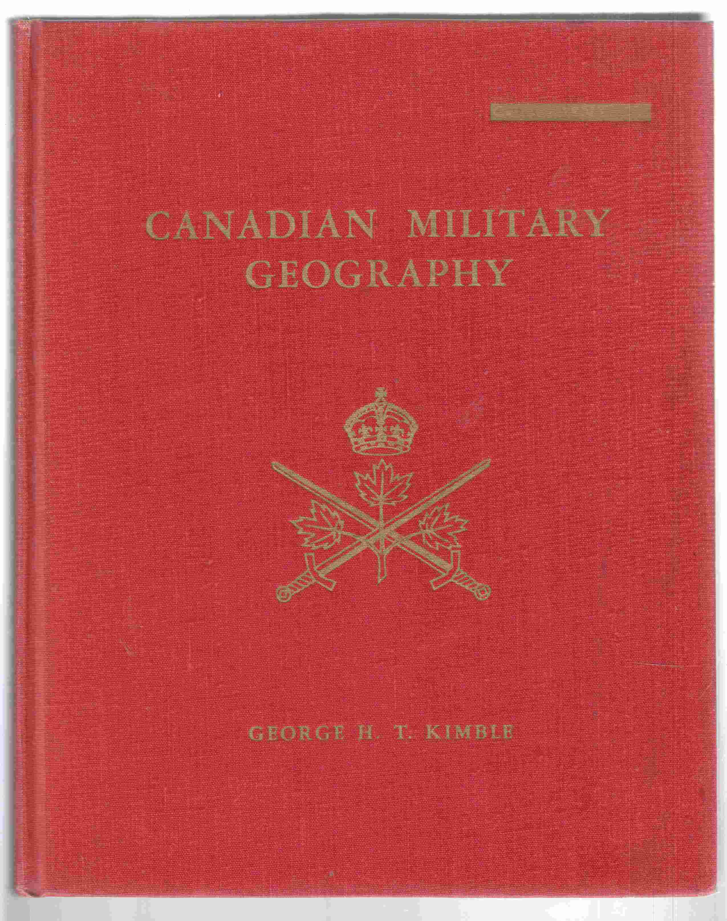 Image for Canadian Military Geography