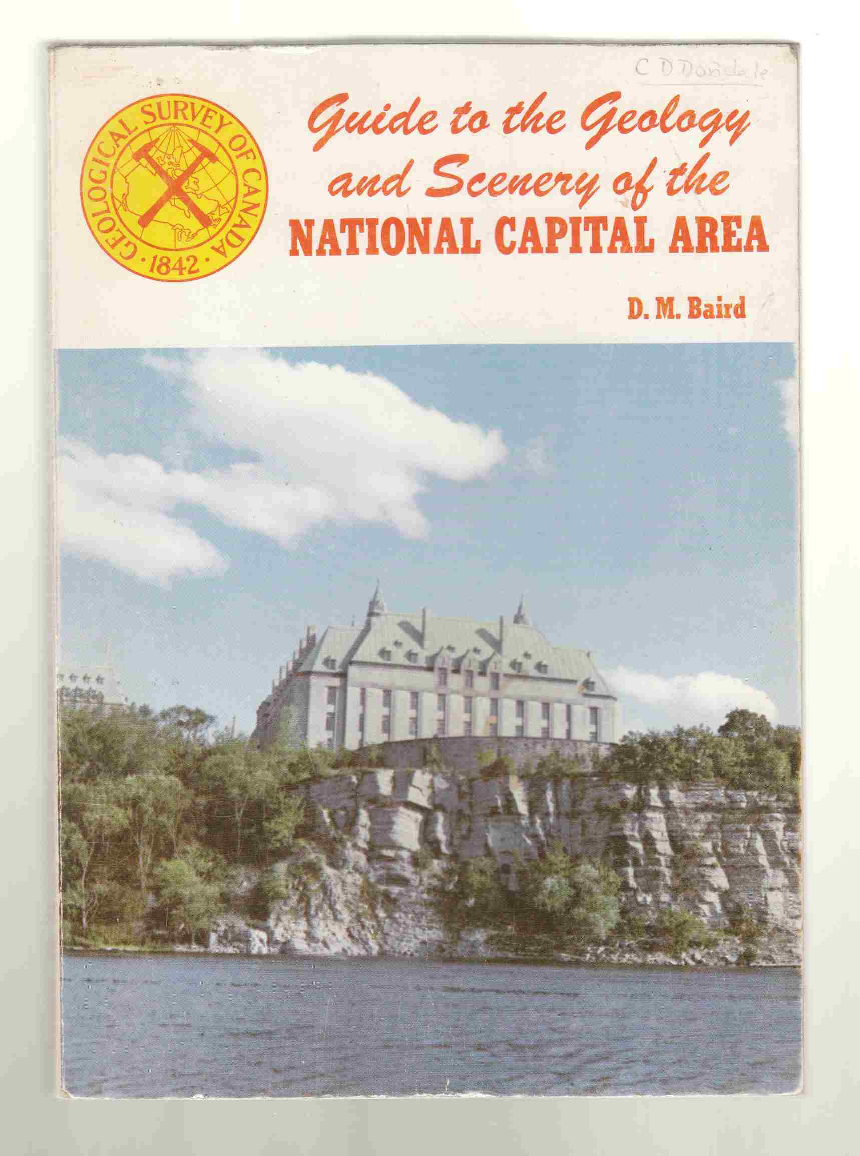 Image for Guide to the Geology and Scenery of the National Capital Area