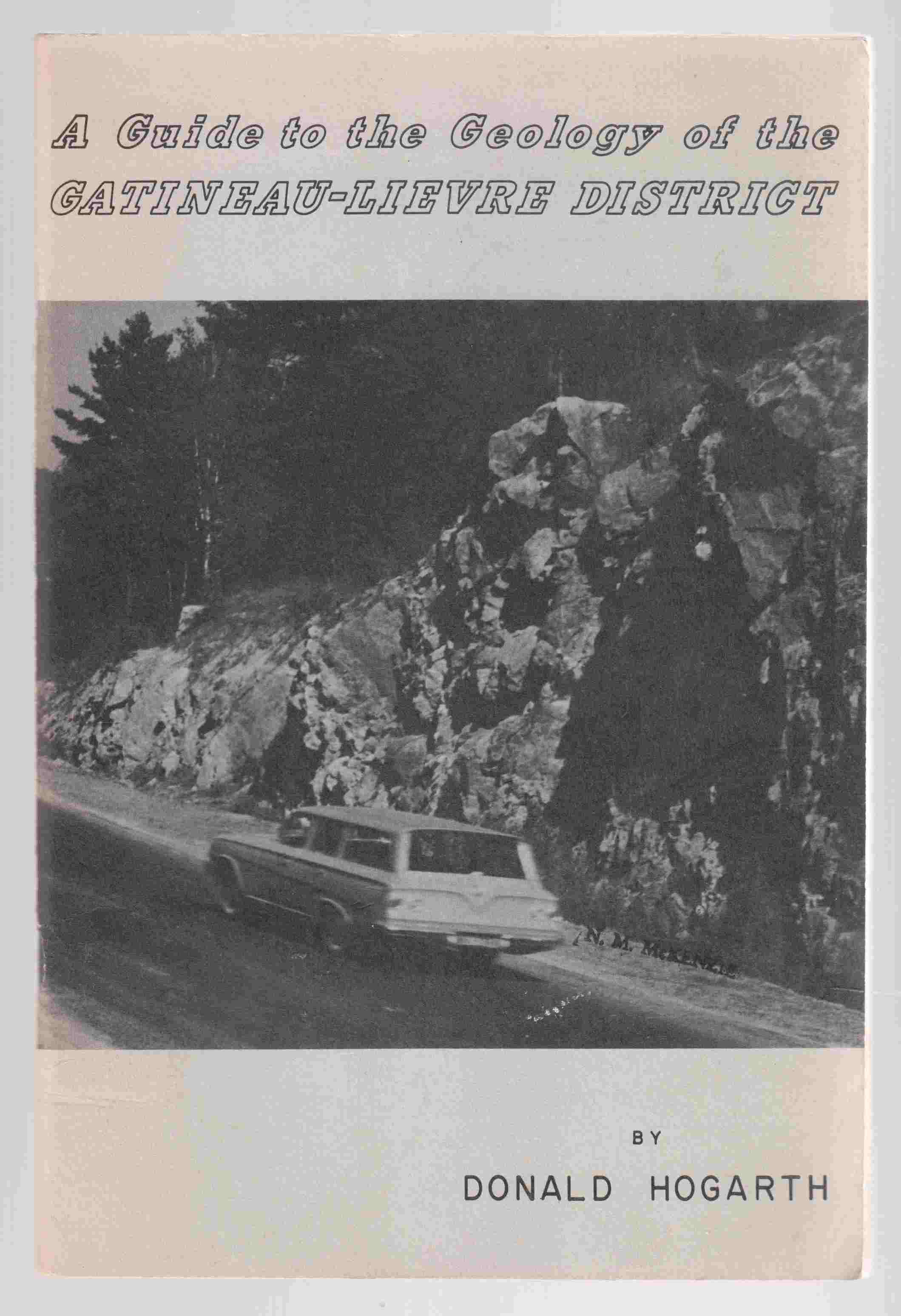 Image for A Guide to the Geology of the Gatineau-Lievre District