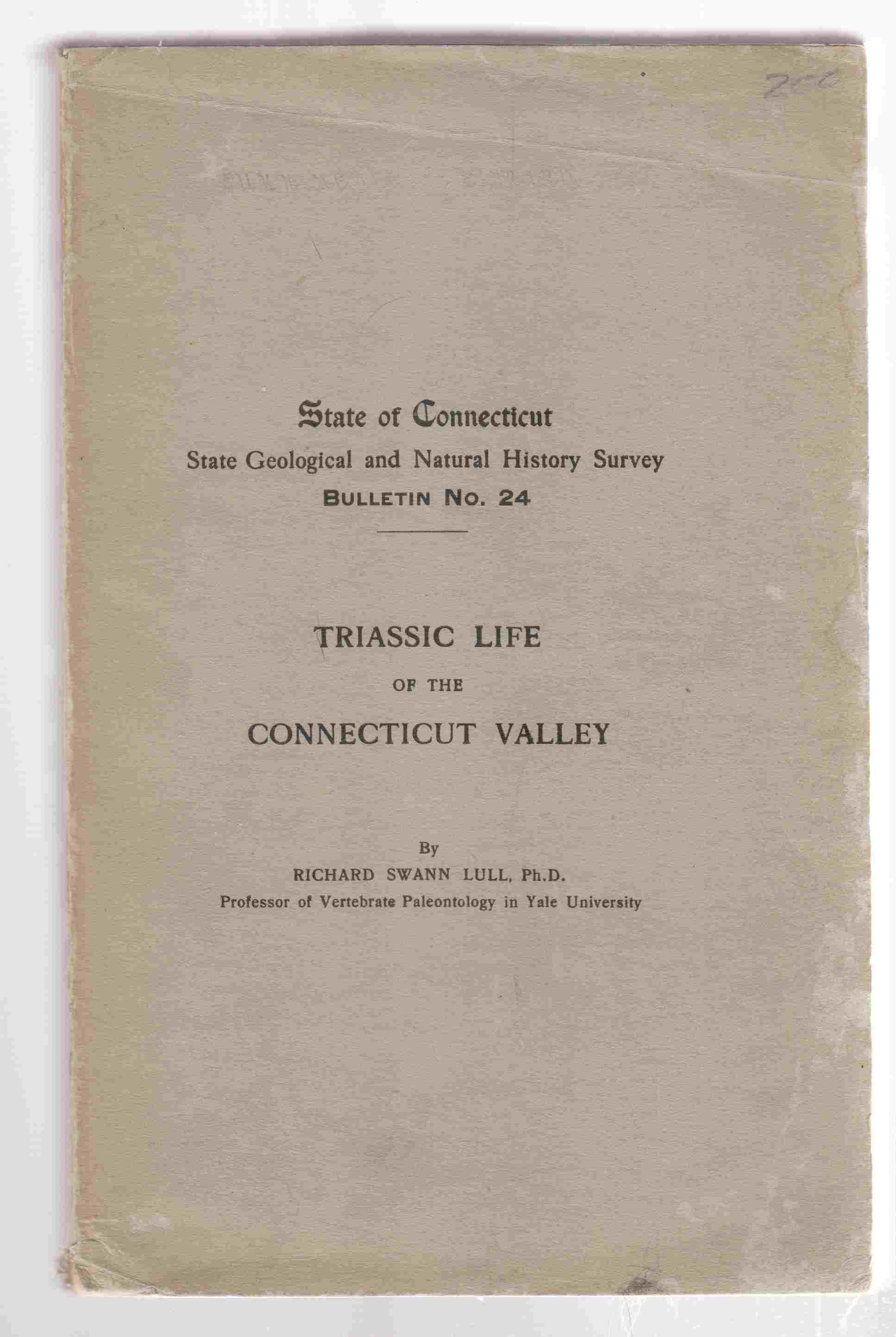 Image for Triassic Life of the Connecticut Valley CT Bulletin #24