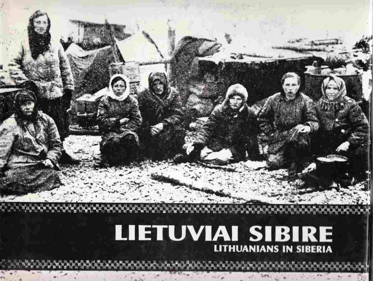 Image for Lietuviai Sibire (Lithuanians in Siberia)