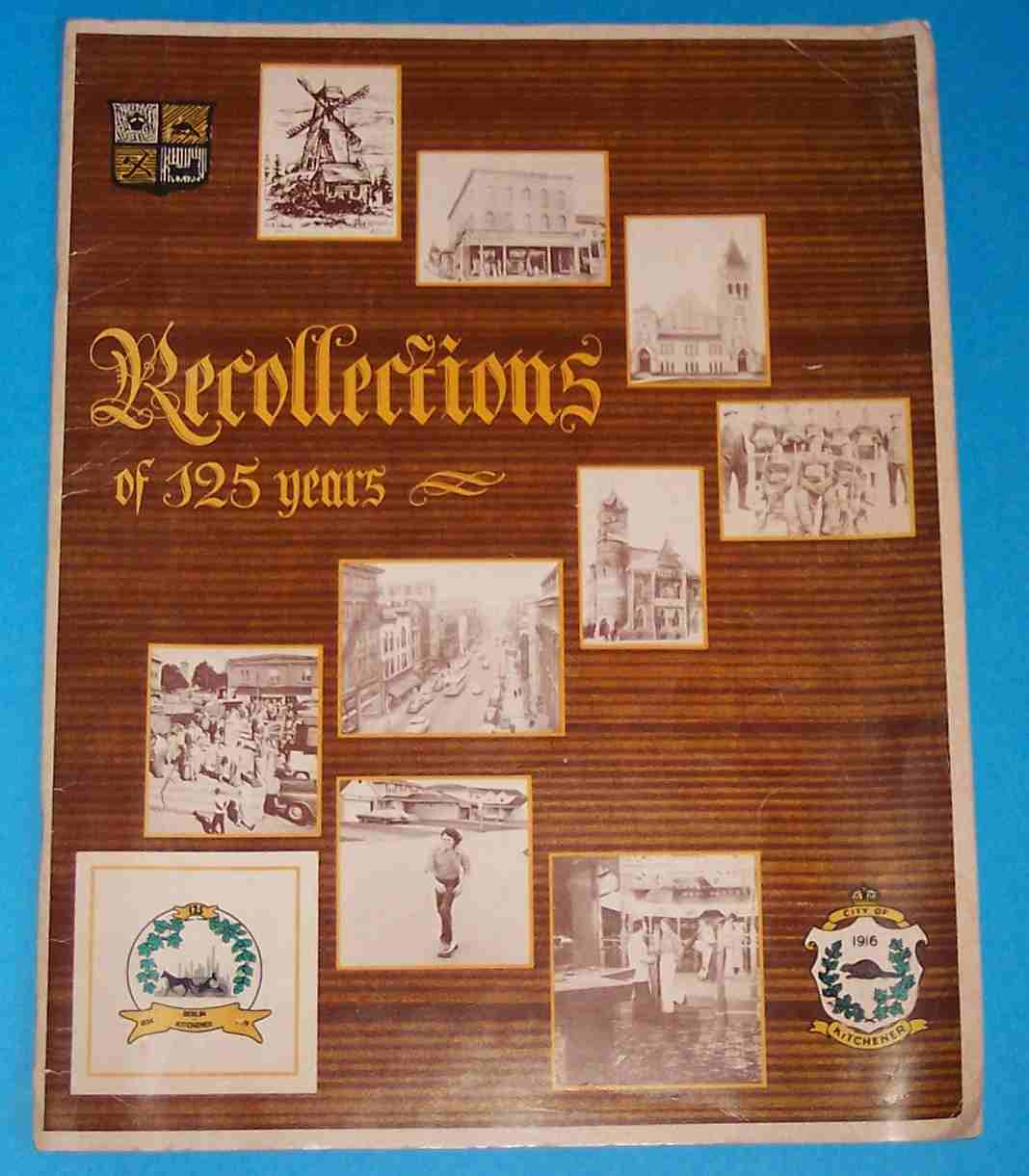 Image for Recollections of 125 Years
