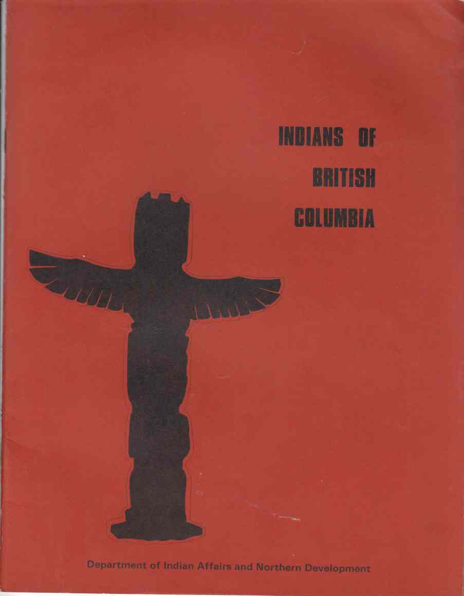 Image for Indians of British Columbia (An Historical Review)