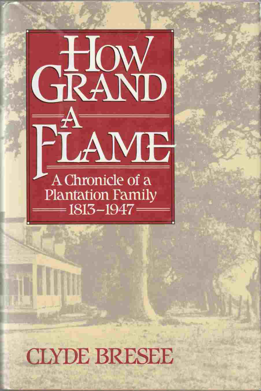 Image for How Grand a Flame: A Chronicle of a Plantation Family, 1813-1947