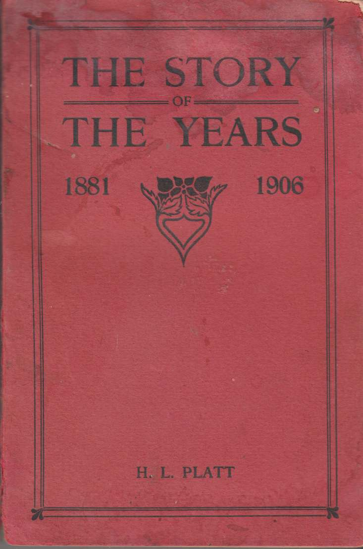 Image for The Story of the Years: A History of the Women's Missionary Society of the Methodist Church, Canada from 1881 to 1906 Vol. II - Beyond Seas