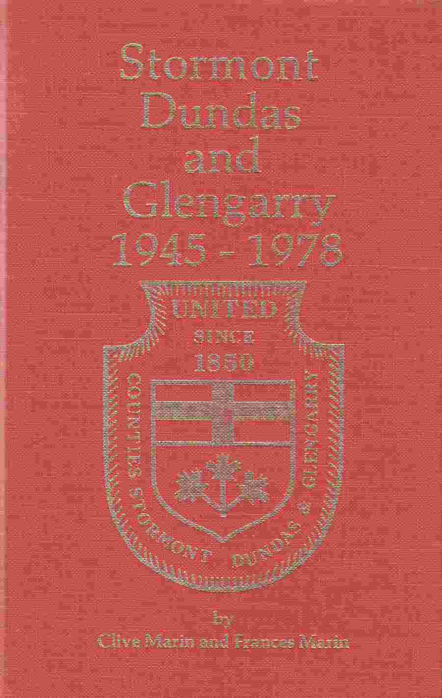 Image for Stormont Dundas and Glengarry 1945-1978