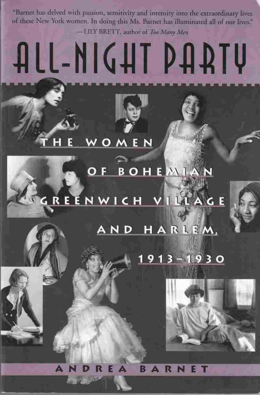 Image for All-Night Party The Women of Bohemian Greenwich Village and Harlem, 1913-1930