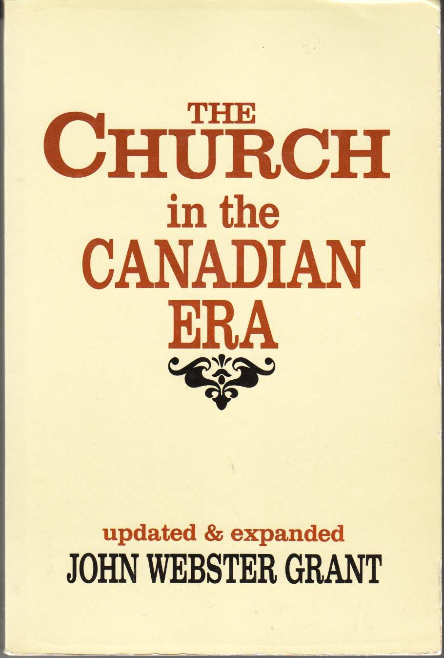 Image for The Church in the Canadian Era