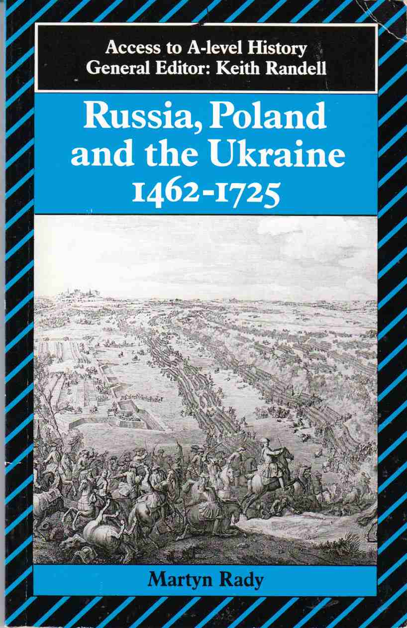 Image for Russia, Poland and the Ukraine 1462 - 1725