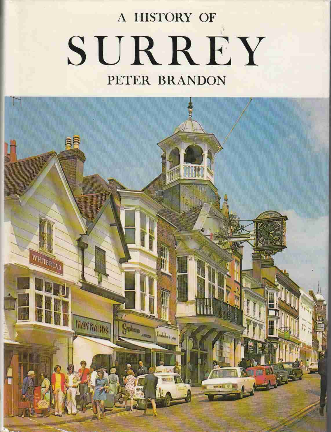 Image for A History of Surrey