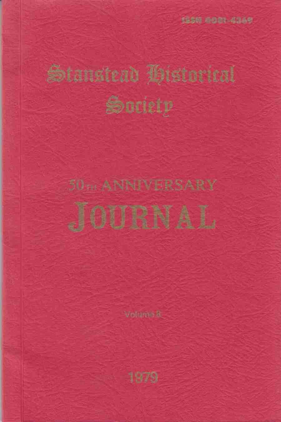 Image for Stanstead Historical Society 50th Anniversary Journal Volume 8