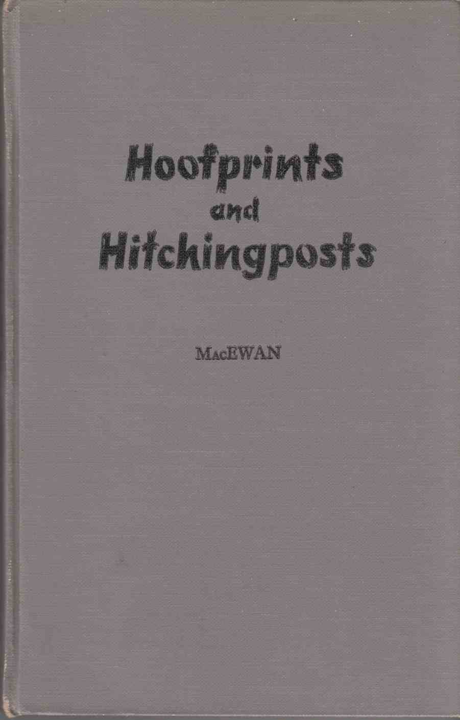 Image for Hoofprints and Hitchingposts